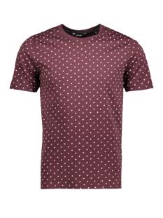 Only & Sons T-shirt onsADAM SS SLIM TEE 22007478 Fudge