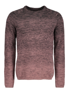 Jack & Jones Trui JORFUEL KNIT CREW NECK CAMP 12124444 Rose Taupe