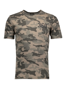 Only & Sons T-shirt onsCODY CAMO AOP O-NECK EXP 22008031 Forest Night