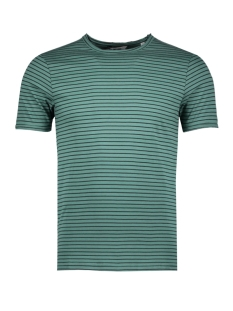 Only & Sons T-shirt onsALBERT STRIPE SS SLIM TEE NOOS 22006398 Blue Spruce/BLACK