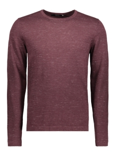 Jack & Jones Trui JPRMIKEY KNIT CREW NECK 12123552 Fudge/Melange