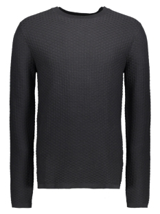 Jack & Jones Trui JPRBRICK KNIT CREW NECK 12124219 Black