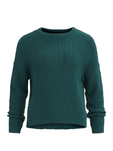 Object Trui OBJNEW COLOR L/S KNIT PULLOVER .I 9 Deep Teal