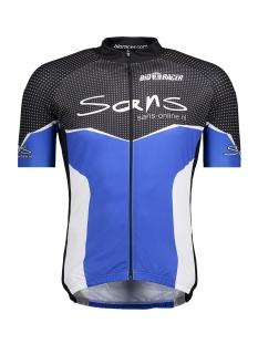 51340 trui km bodyfit sans sport jas blauw wit