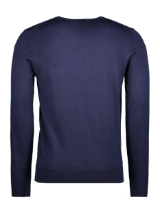 jprmark knit crew neck noos 12109976 jack & jones trui maritime blue