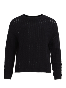 Object Trui OBJNEW COLOR L/S KNIT PULLOVER .I 9 23025148 Black
