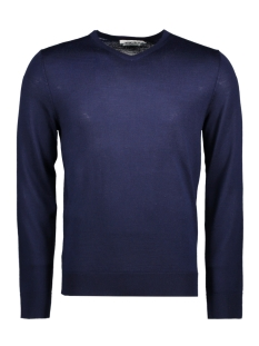Jack & Jones Trui JPRMARK KNIT V-NECK NOOS 12124072 Maritime Blue
