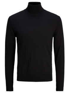 Jack & Jones Trui JPRMARK KNIT ROLL NECK 12113489 Black