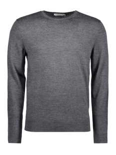 Jack & Jones Trui JPRMARK KNIT CREW NECK NOOS 12109976 Dark Grey Melange
