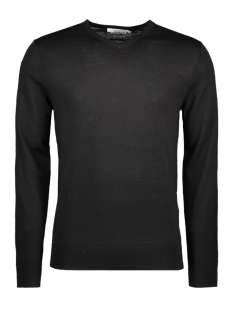Jack & Jones Trui JPRMARK KNIT V-NECK NOOS 12124072 Black