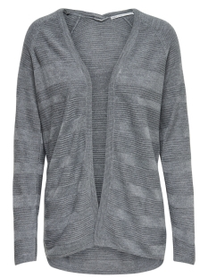 Only Vest onlCAVIAR L/S LONG CARDIGAN CC KNT 15136693 Medium Grey Melange