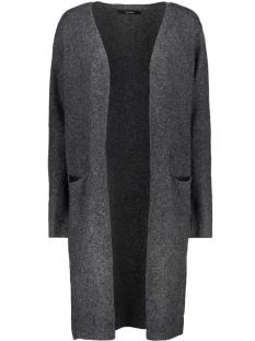 Vero Moda Vest VMBRILLIANT LS LONG OPEN CARDIGAN NOOS 10180226 Black