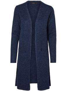 Vero Moda Vest VMBRILLIANT LS LONG OPEN CARDIGAN N 10180226 Navy Blazer/Melange