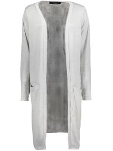 Vero Moda Vest VMSADIE LS LONG OPEN CARDIGAN A 10185772 Light Grey Melange