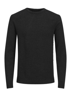 Jack & Jones Trui JCOPENDITON KNIT CREW NECK CAMP 12128544 Black