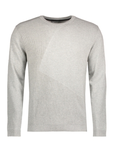 Jack & Jones Trui JCOPENDITON KNIT CREW NECK CAMP 12128544 Light Grey Melange