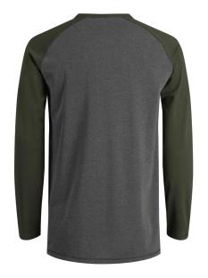 jcoperch tee ls grandad 12128838 jack & jones t-shirt rosin