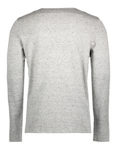 jorwills knit crew neck 12121991 jack & jones sweater light grey mela.