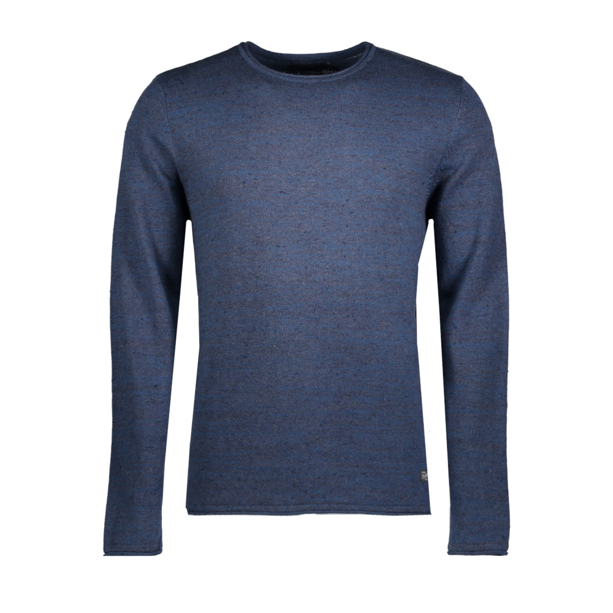jorwills knit crew neck 12121991 jack & jones sweater ensign blue