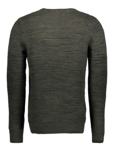 joryani knit crew neck 12128121 jack & jones trui forest night