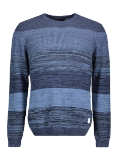 Jack & Jones Trui JCOLEWISTON KNIT CREW NECK 12128053 Sky Captain