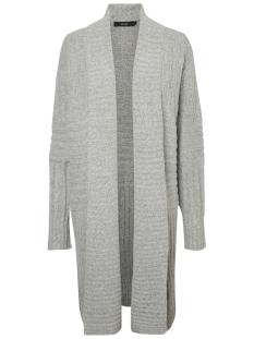 Vero Moda Vest VMCLEARLAKE POSH LS SHAWL CARDIGAN 10183224 Light Grey Melange
