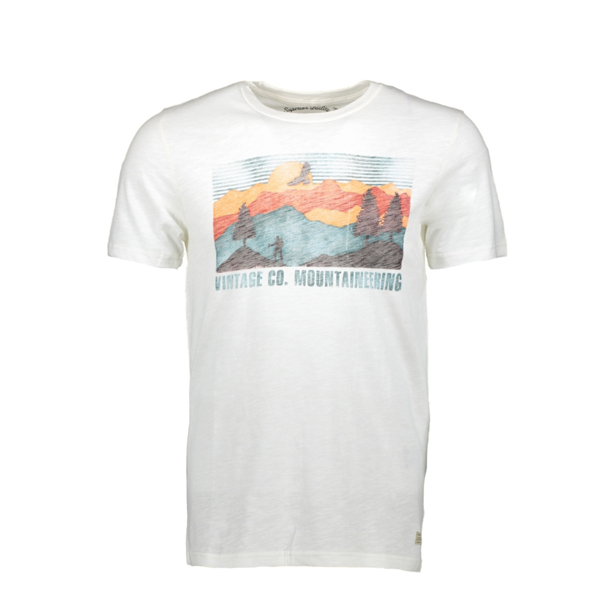 jjvrobert tee ss crew neck 12128099 jack & jones t-shirt cloud dancer