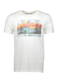 Jack & Jones T-shirt JJVROBERT TEE SS CREW NECK 12128099 Cloud Dancer