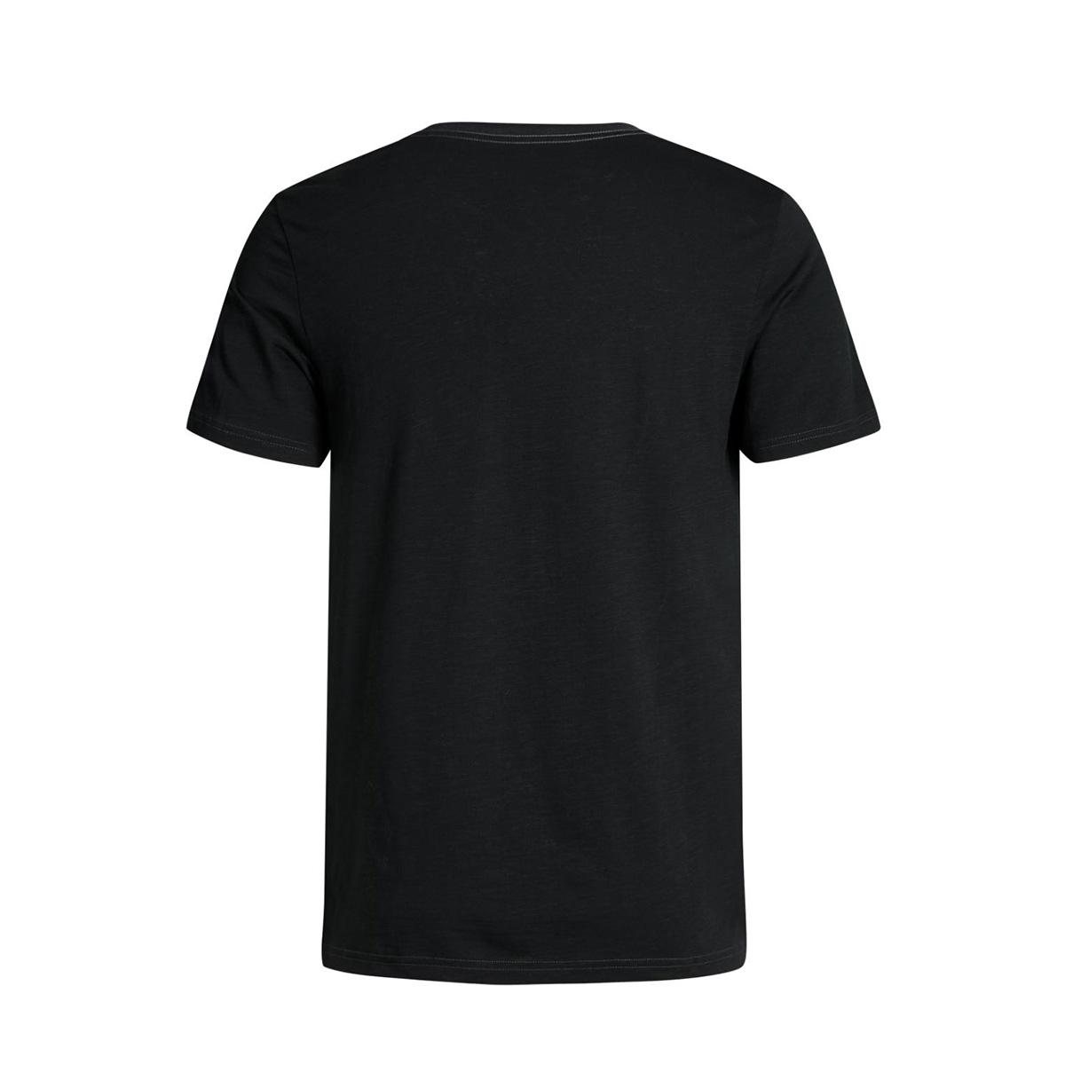 jjvrobert tee ss crew neck 12128099 jack & jones t-shirt caviar