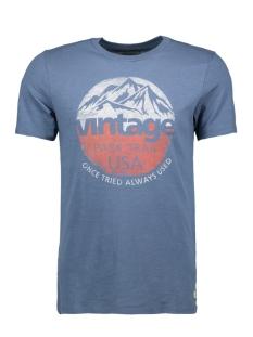 Jack & Jones T-shirt JJVROBERT TEE SS CREW NECK 12128099 Bering Sea