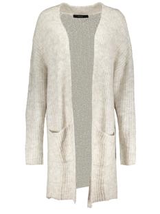 Vero Moda Vest VMHELEN LS LONG OPEN CARDIGAN 10183094 Light Grey Melange / With Snow