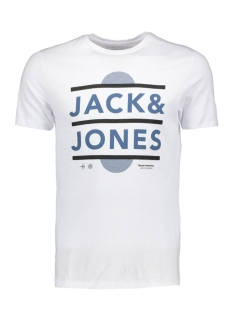 Jack & Jones T-shirt JCOBOOSTER TEE SS CREW NECK 0010 12135945 White