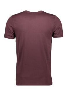 jcobooster tee ss crew neck 0010 12135945 jack & jones t-shirt fudge