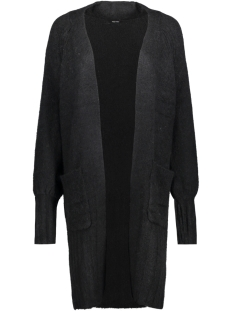 Vero Moda Vest VMELINA LS OPEN CARDIGAN VIP 10183362 Black Beauty