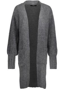 Vero Moda Vest VMELINA LS OPEN CARDIGAN VIP 10183362 Medium Grey Melange