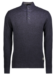 Jack & Jones Trui jjvHARRIS KNIT HIGH NECK GRANDDAD 12127568 Parisian Night