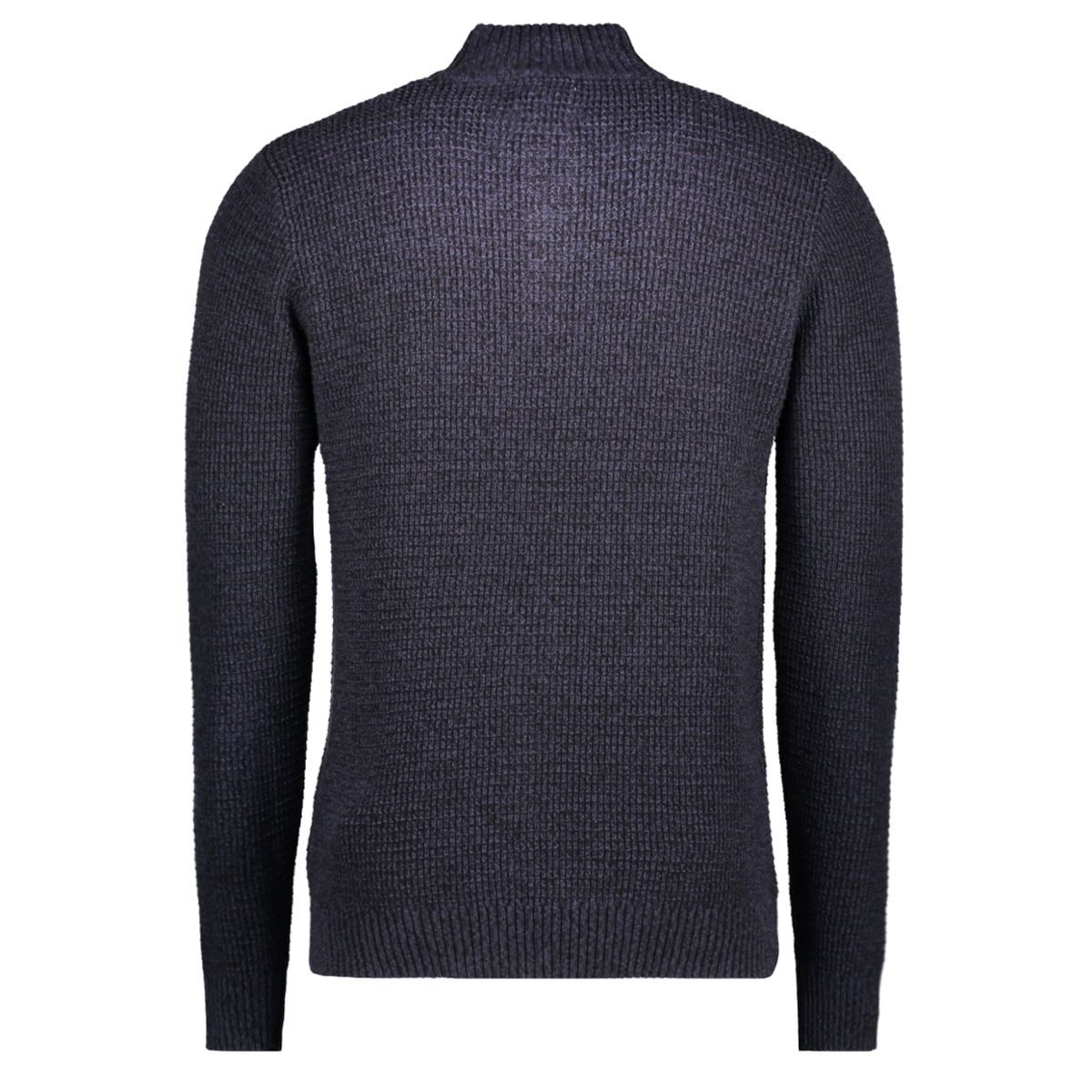 jjvharris knit high neck granddad 12127568 jack & jones trui parisian night
