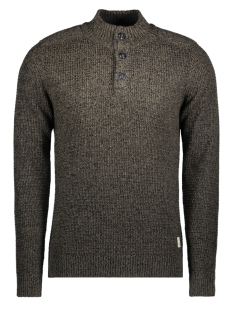 Jack & Jones Trui jjvHARRIS KNIT HIGH NECK GRANDDAD 12127568 Sea Turtle
