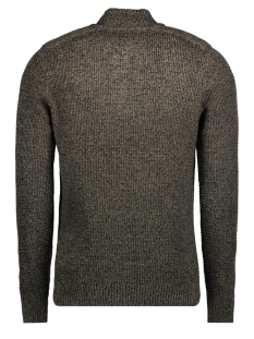 jjvharris knit high neck granddad 12127568 jack & jones trui sea turtle