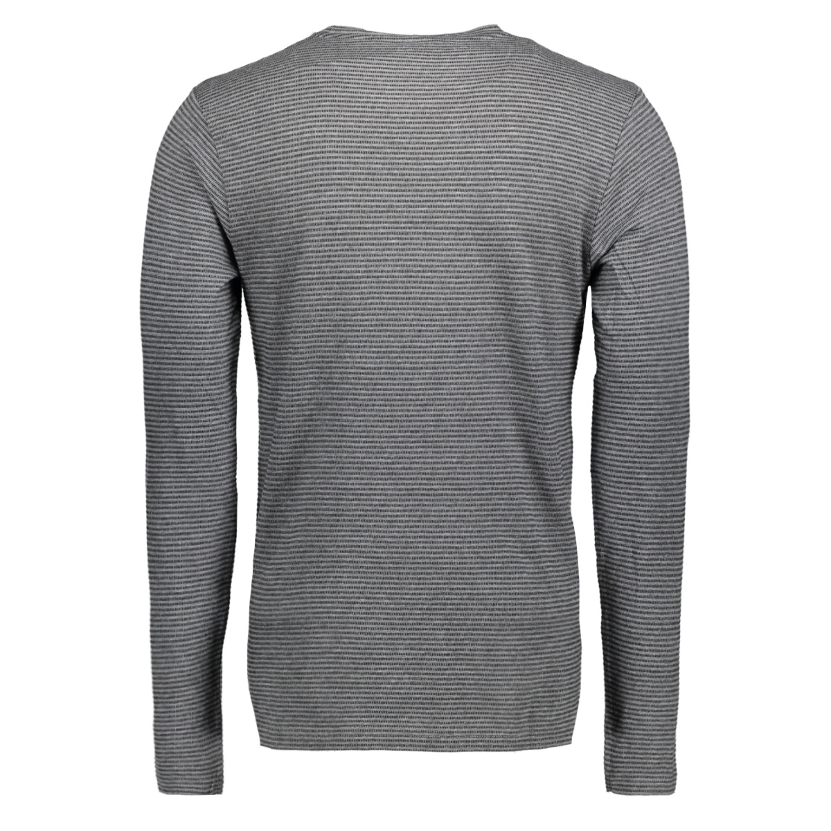 onsaron ls fitted tee only & sons t-shirt medium grey melange