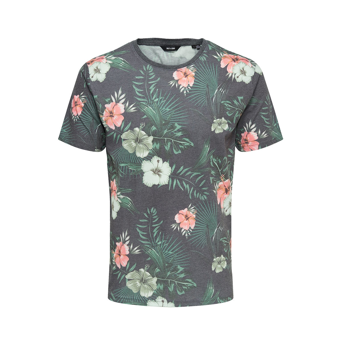 onsflanc tee ss exp 22009777 only & sons t-shirt night sky