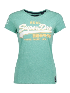 Superdry T-shirt G10008FP TRI ENTRY YCO MINT
