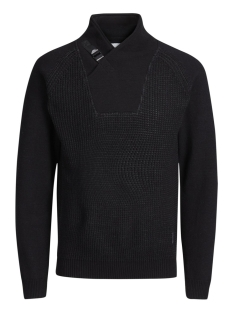 Jack & Jones Trui JCOCARSON KNIT HIGH NECK 12128072 Black