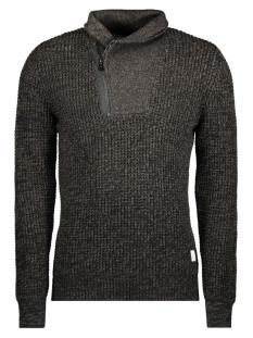 jcocarson knit high neck 12128072 jack & jones trui grape leaf
