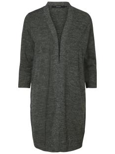 Vero Moda Vest VMCLEMENTINE COPENHAGEN 3/4 OPEN CARDIGAN 10157573 Dark Grey Melange