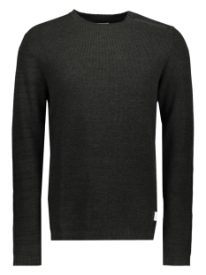 Jack & Jones Trui JCOOCTAVIO KNIT CREW NECK 12117161 Rosin