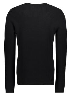 jcooctavio knit crew neck 12117161 jack & jones trui black