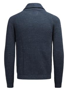 jjvorson knit shawl cardigan 12124604 jack & jones vest blue nights