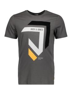 Jack & Jones T-shirt JCOMULLET TEE SS CREW NECK BF 12128848 Asphalt