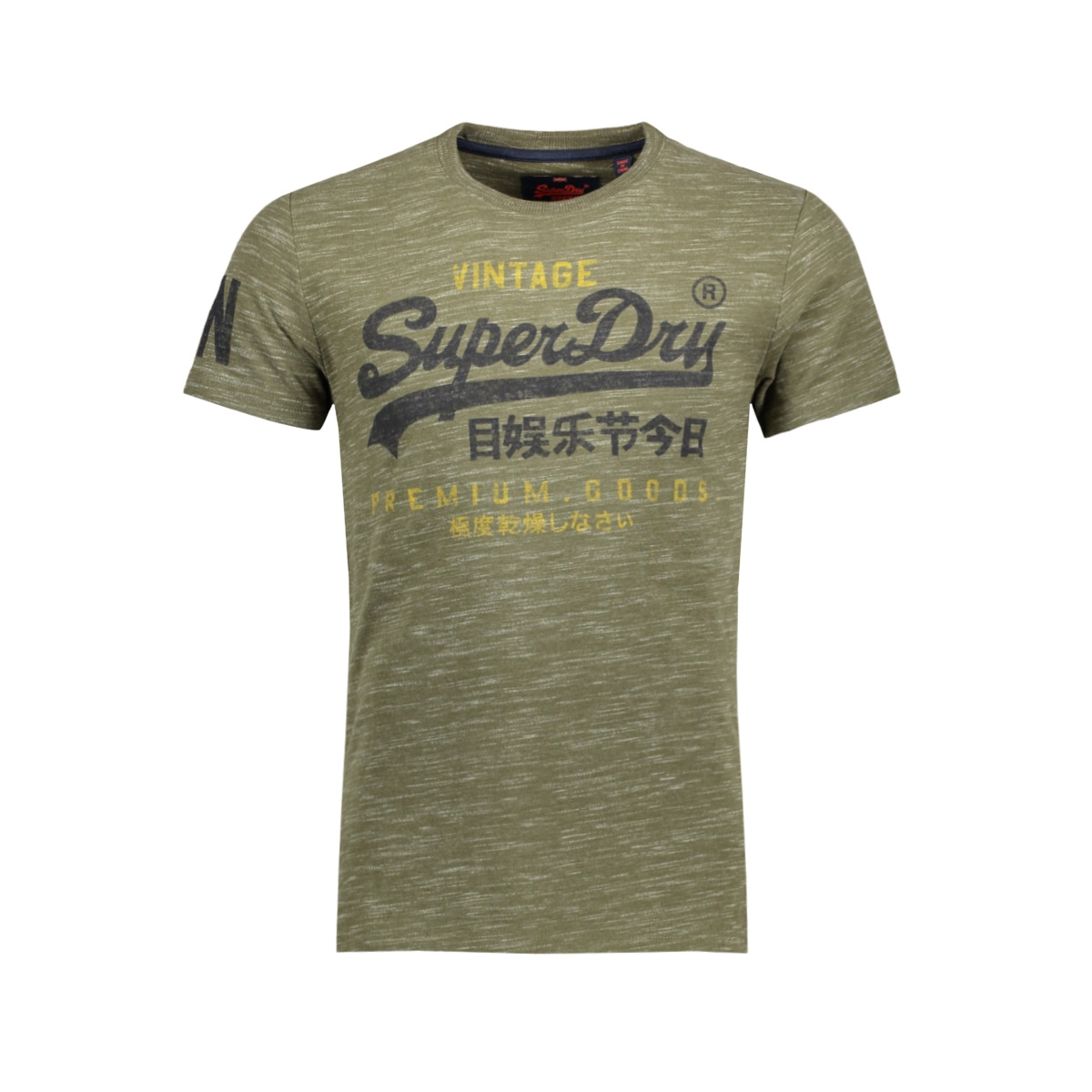 m10002pp premium goods duo tee superdry t-shirt space dye grit fh7